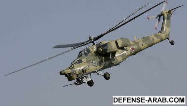 Photo of تحطم مروحية عسكرية من طراز MI-28N بروسيا .