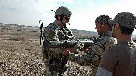 Photo of الجيش العراقي يستخدم أسلحة سويدية الصنع