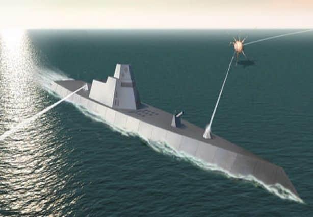 Photo of استخدام الليزر في القتال البحري