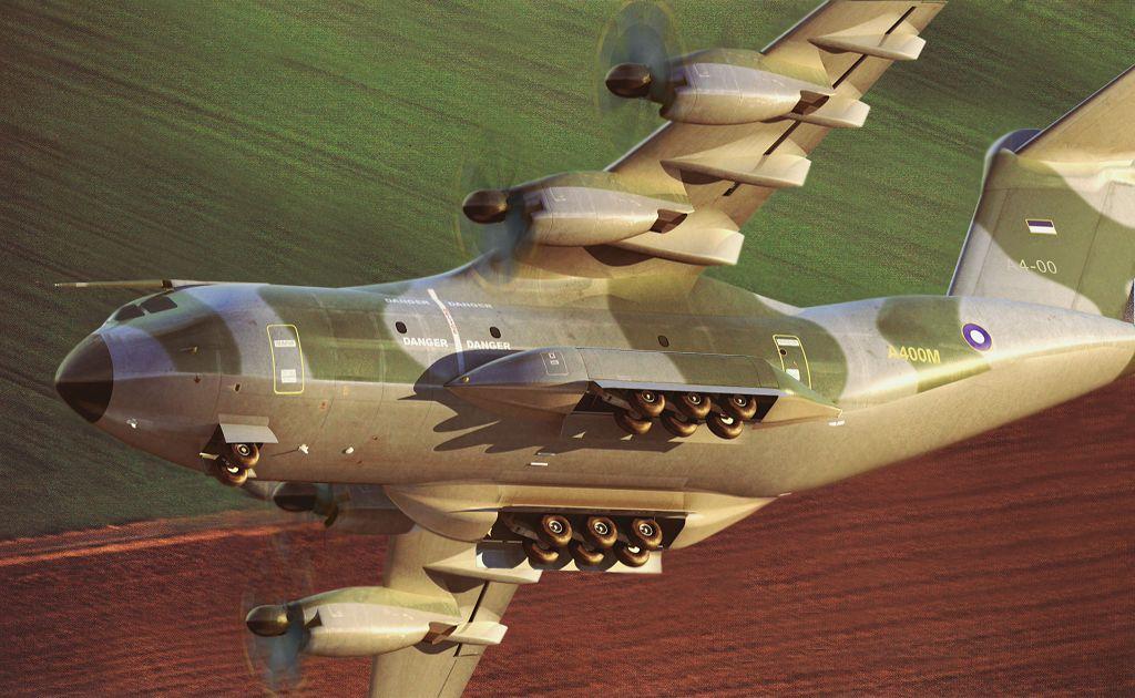 Photo of الطائرة الأوروبية A400M تطير للمرة الأولى