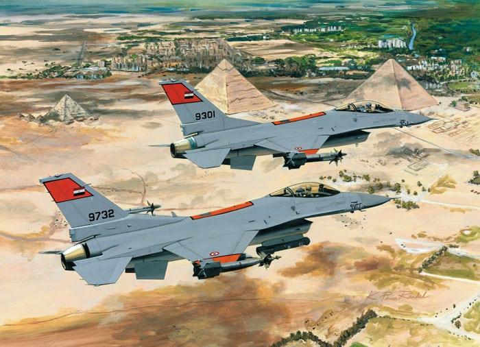 Photo of 20 مقاتلة أف 16 لسلاح الجو المصري