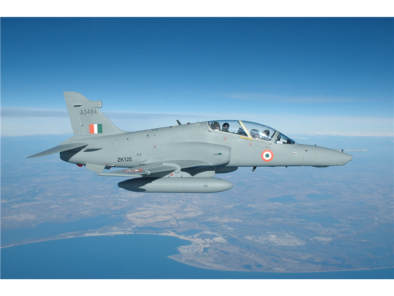 Photo of الهند تقتني دفعة كبيرة من طائرات التدريب هوك
