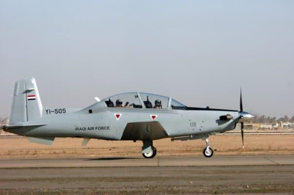 Photo of العراق استلم اربع طائرات تدريب من نوع T-6A