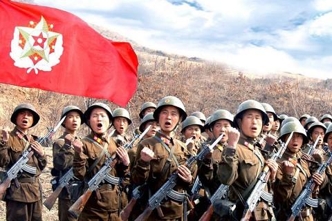 Photo of الجيش الكوري الشمالي يهدد بالرد العسكري على مناورات كوريا الجنوبية
