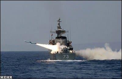 Photo of إيران تطلق صاروخ نور من المدمرة الأيرانيه الصنع جماران