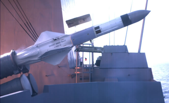 Photo of البحرية القطرية تستلم صواريخ Exocet  Block III