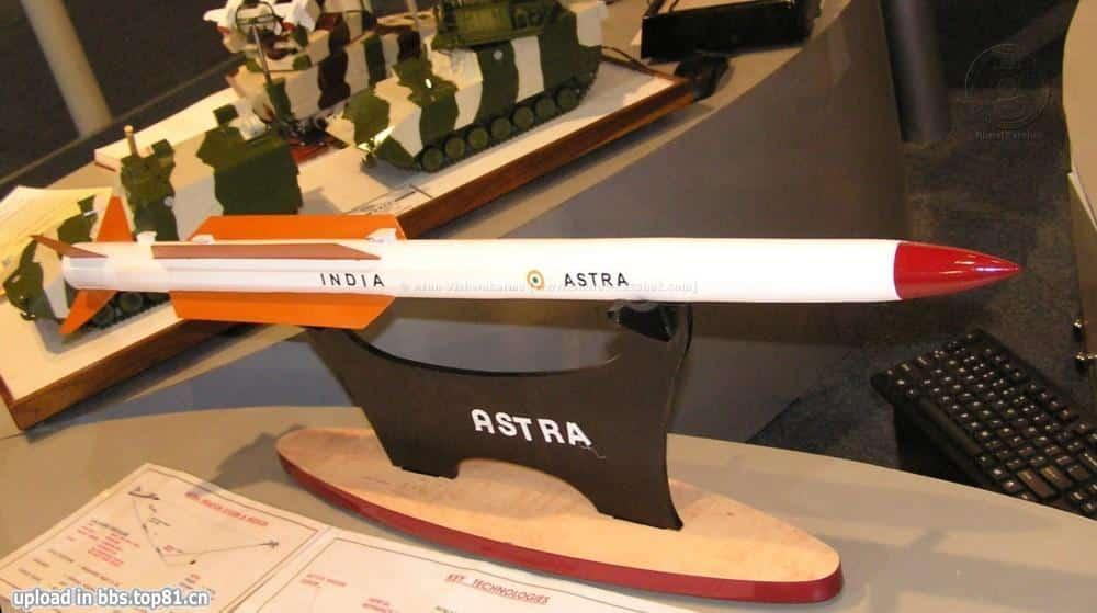 "Photo of الهند تعلن نجاح اختبار صاروخ ""أسترا"" جو ـ جو الأبعد من المدى البصري"