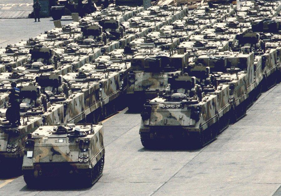 Photo of BAE Systems تعيد تأهيل ناقلات الجند M113