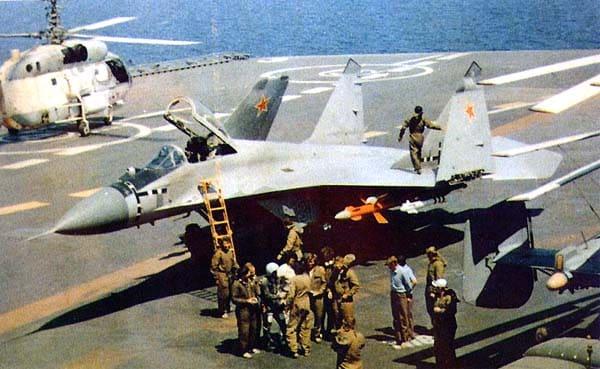 Photo of الهند قد توقع اتفاقية شراء  مقاتلات  mig-29k البحرية