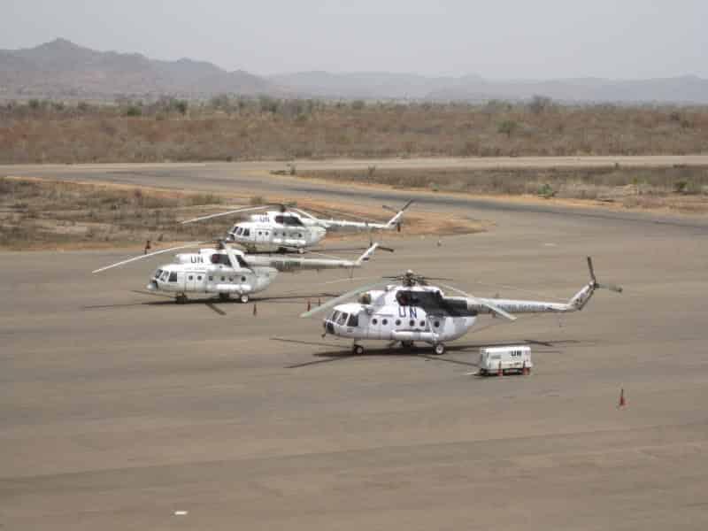 Photo of إرسال مروحيات روسية الي السودان لدعم بعثة الأمم المتحدة للمراقبة
