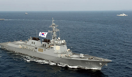 South Korea's Navy conducts drill in southern sea