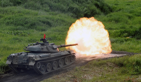 Military exercises in Japan