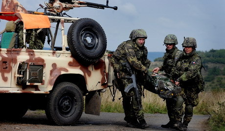 Czech Republic army military exercise