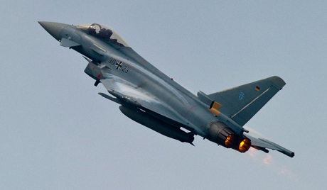 India has shortlisted two European fighter jets for Air Force - Eurofighter