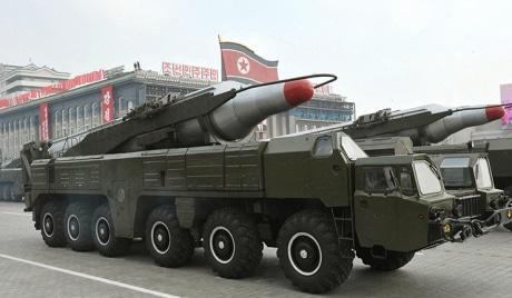 North Korea's relocation of intermediate-range missile