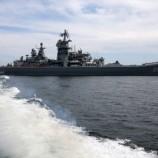 انطلاق المناورات البحرية المشتركة بين روسيا والصين في المتوسط