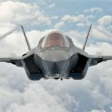 F-35 تسقط اول اهدافها الجوية