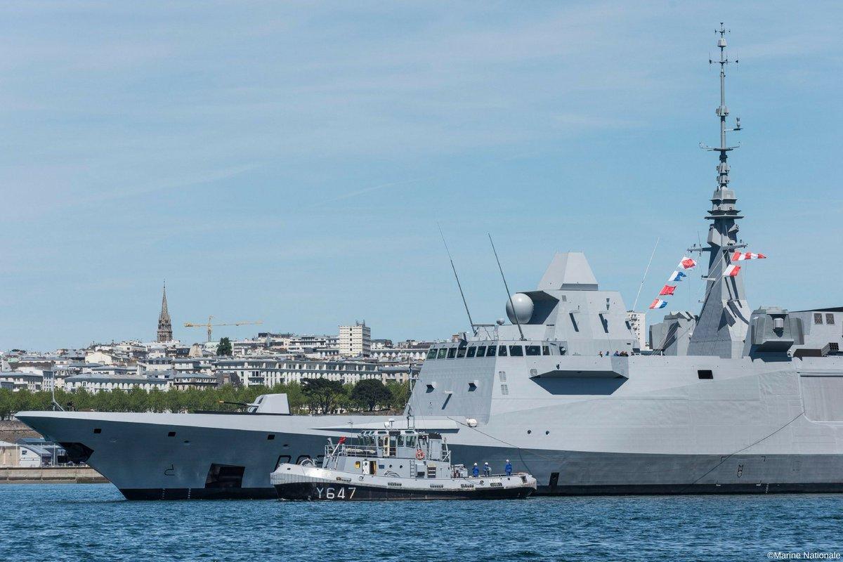 Photo of البحرية الفرنسية تستلم فرقاطة FREMM الخامسة