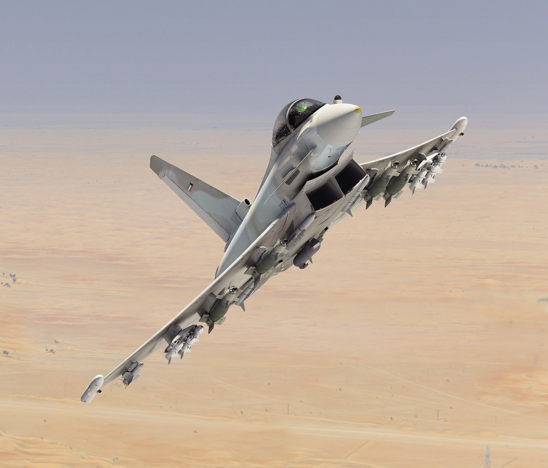 Photo of مقاتلات التايفون الكويتية ستحصل على بودات التصويب Sniper