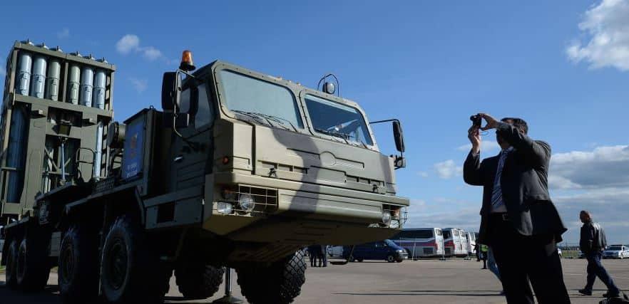 "Photo of صواريخ ""إس-350 فيتياز"" المضادة للطائرات محصنة ضد الإعاقة التشويشية"