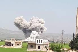 Photo of غارات روسية مكثفة على إدلب منذ فجر الجمعة