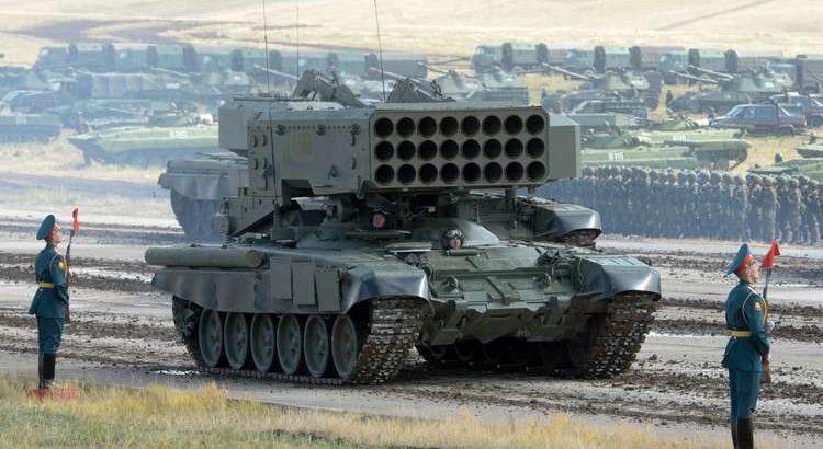 """Photo of السعودية تحصل على الدفعة الأولى من أنظمة المدفعية الصاروخية الثقيلة """"سولنتسيبيوك"""""""