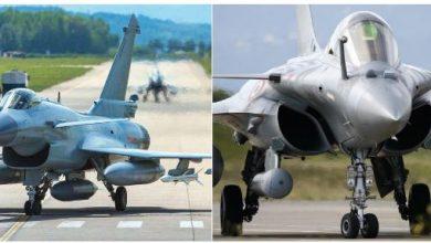 Photo of مقارنة بين طائرة جي 10 الصينية ورفال الفرنسية