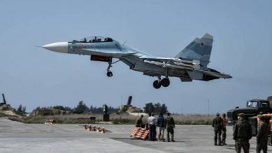 Photo of قصف قاعدة حميميم الروسية في سوريا بالصواريخ