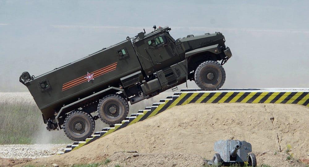 "Photo of تعرف على مدرعة ""تايفون"" الروسية التي تعادل دبابة!"