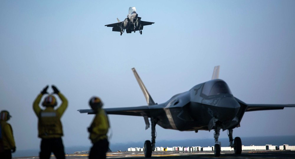 "Photo of سقوط طائرة ""إف -35"" الجديدة في اليابان يؤرق الإدارة الأمريكية"