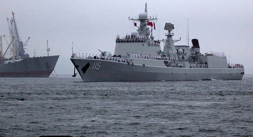 Photo of بالفيديو..شاهد إختبار البحرية الصينية لسفينة بمدفع كهرومغناطيسي