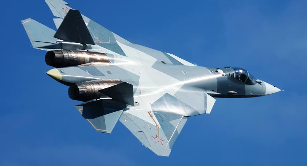"""Photo of تزويد مقاتلة """"سو-57″بتقنيات تمكنها من صد الصواريخ بالليزر"""