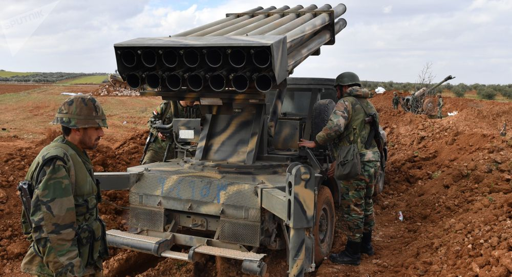 Photo of صواريخ سورية تدمر أرتال لقوات النخبة التابعة لجبهة النصرة في ادلب