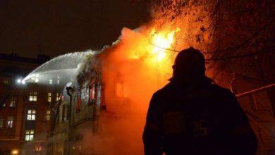 Photo of إندلاع حريق في مصنع صواريخ سارمات الباليستية