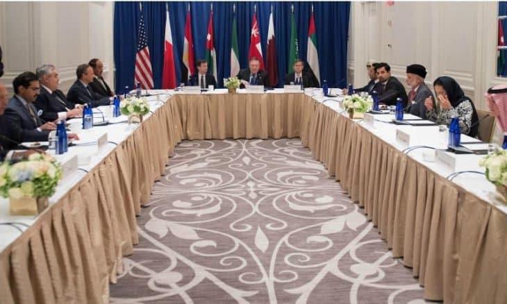 Photo of إجتماع عسكري عربي أمريكي بحضور قطر في الرياض