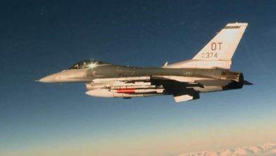 """Photo of تحطم طائرة حربية من طراز """"إف 16"""" في كاليفورنيا(فيديو)"""
