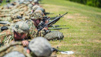 Photo of الحرس الوطني الأمريكي يستخدم ذخيرة غير قياسية