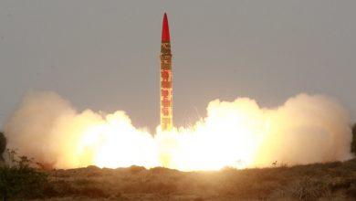 Photo of باكستان تنجح بإطلاق صاروخ بالستي يمكنه حمل رؤوس نووية ..فيديو