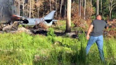 """Photo of تحطم مقاتلة أمريكية من طراز """"إيه في 8 هاير -2″في كارولينا"""