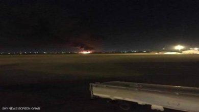 """Photo of الجيش الليبي يدمر ثاني طائرة تركية """"مسيرة"""" في مطار معيتيقة"""