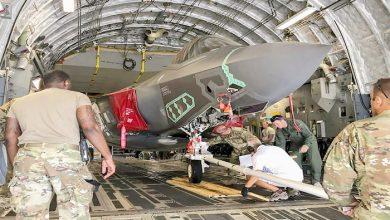 Photo of أمريكا تجري أول عملية نقل جوي لمقاتلة F-35
