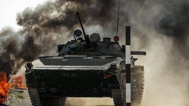 """Photo of رصد مركبة """"البرميل"""" لدى مسلحي سوريا وإستهداف لطائرة سوخوي"""