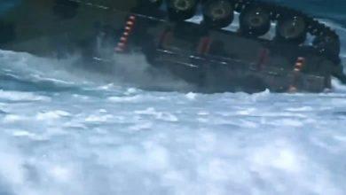 Photo of لقطات فريدة من اختبار السيارة البرمائية الأمريكية