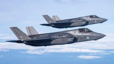 Photo of أحدث مقاتلة بريطانية F-35B تبدأ مهماها