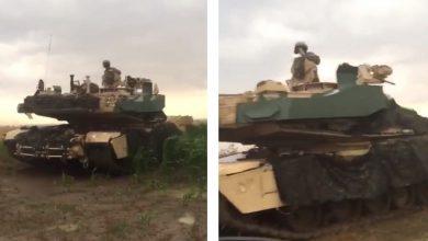 Photo of دبابات أمريكية تضل طريقها فتتلف المزروعات