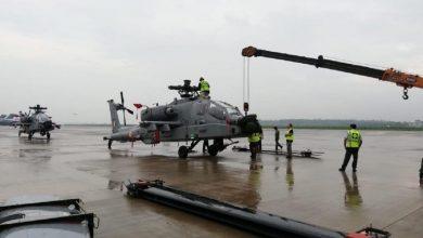 Photo of طائرات الأباتشي الأمريكية تصل  إلى الهند