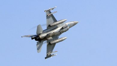 "Photo of 66 مقاتلة ""أف16"" الأمريكية في طريقها لتايون والصين غاضبة"