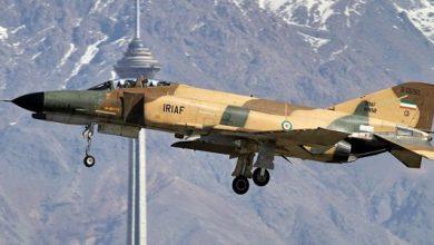 Photo of تحطم مقاتلة إيرانية من طراز F4..صور