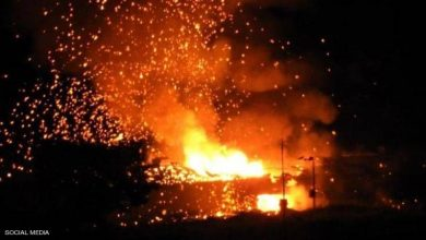 Photo of إنفجارات  غامضة وعنيفة تهز قاعدة عسكرية شمالي قبرص