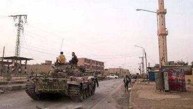 Photo of طائرة مجهولة تهاجم قوات تدعمها إيران في سوريا